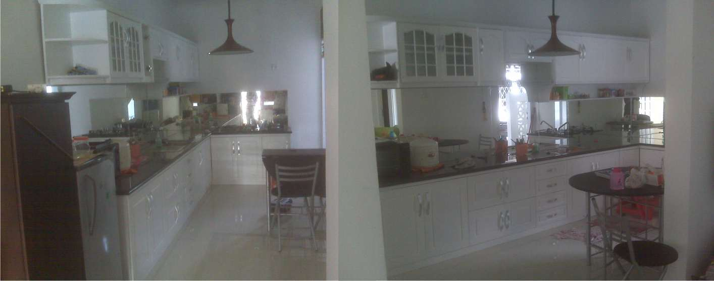 Kitchen Set Klasik Yang Serba Putih Komp Bpn Baru Balikpapan