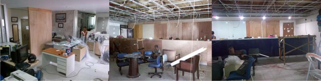 kontraktor interior bank mandiri