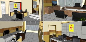 Draft 3D Interior