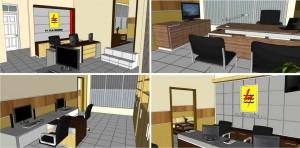 Draft 3D Interior