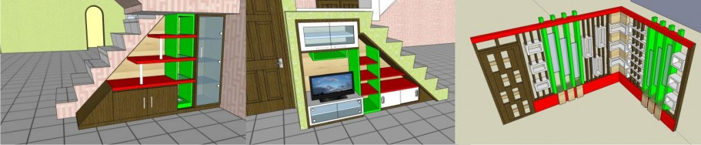 Draft desain 3D