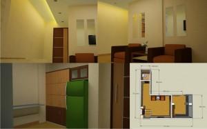 Rencana desain ruangan..