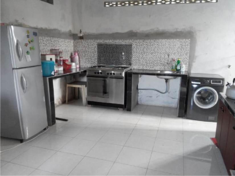Desain Kitchen Set Bu Indah Mt Haryono Balikpapan