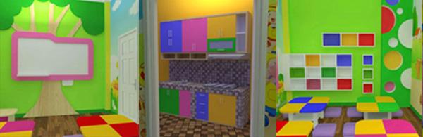 interior ruang kelas