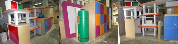 proyek interior sekolah