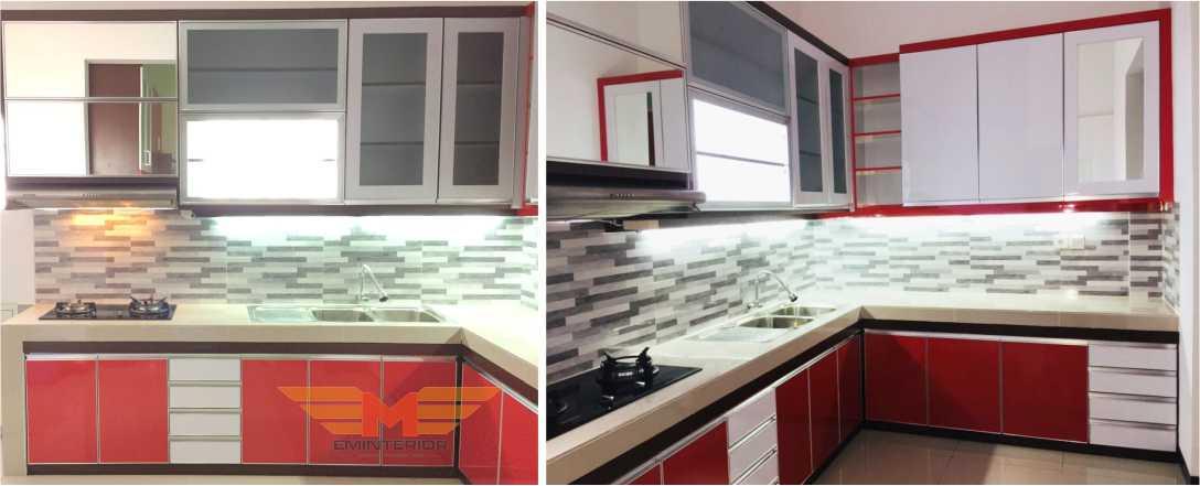 Contoh Kitchen Set Merah Putih Untuk Anda Batu Ampar Balikpapan