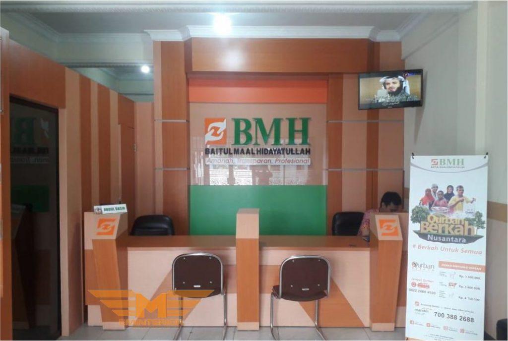 klien Interior gedung kantor