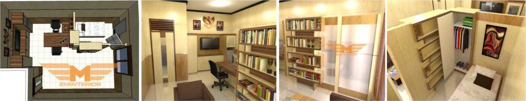 pembuatan furniture ruang pimpinan