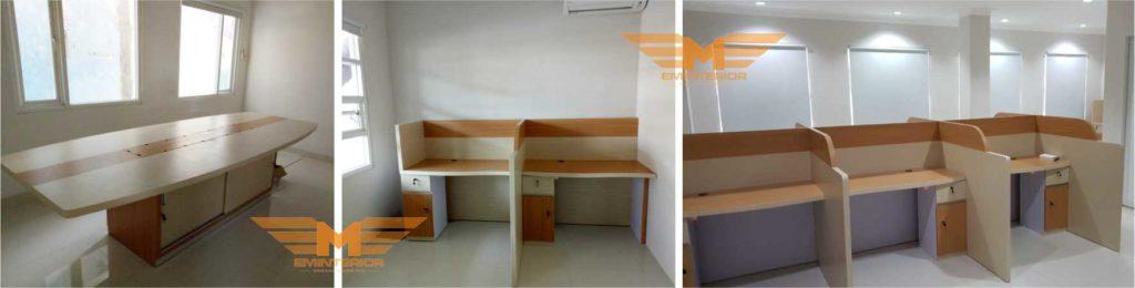 meja kantor kubikel