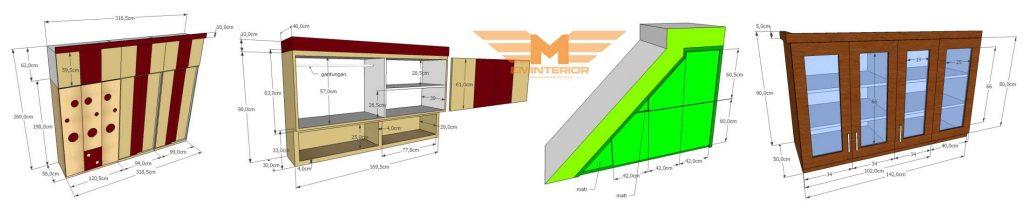 pembuatan custom furniture