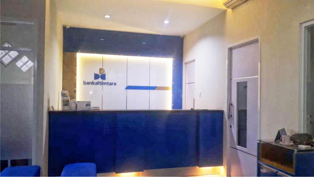 Interior Kantor Bankaltimtara KCP Sotek